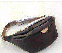Luxo Designer Cintura Sacos de Couro Genuíno de Alta Qualidade Bumbag Fanny Pack Cross Body Bag Discovery Bumbag Unisex Sport Cintura Saco