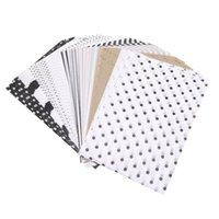 21 * 14cm Geschenkpapier Retro Multicolor Druckgewebepapier Lesezeichen DIY Kind Geschenk Falten Handgemachtes Papier Par Jllogf