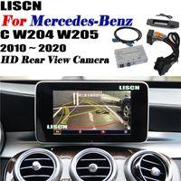 Автомобильные Вид сзади Камеры Паркинг Датчики Парковка Фронтальная камера для C W204 W205 2010 ~ 2021 Интерфейс резервного копирования Оригинальный экран Реверсивный DVR