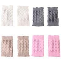 Le donne mantengono calda copertura del bagagliaio Lady Winter Winter Color Color Wool Scaldalieri Moda Fashion Caldo Piedi a maglia calze da maglia 6 3my J2