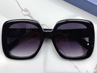 0713sa Moda Güneş Gözlüğü Erkekler Kadınlar Için Koruma Ile Vintage Kare Büyük Çerçeve Popüler En Kaliteli Case Klasik Güneş Gözlüğü Ile Gel