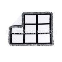 DIY одеяло коврик Baby сублимация пустые кисточки 83 * 110см мода печать картина аксессуары женщины мужские одеяла на открытом воздухе 26 41YP K2