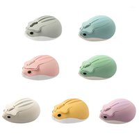 Ratones Hamster 2.4G Mouse Wireless para Laptop Universal Lindo Anime Perifhers Game and Office 7 Colors1