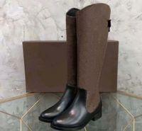 2020 nuovi stivali da neve formatori Moda ginocchio stivali di alta qualità stivali in pelle sandali pantofole Vintage Air per donna di Shoe09 L2502