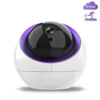 Cámaras WIFI Cámara TUYA 1080P HD CCTV Vigilancia IP Network Dome PTZ con seguimiento automático Alexa Google Home Control de voz