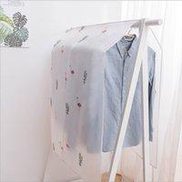 Staubkleidung Cover Magic Stick 90 * 110cm Home Schrankbeutel Peva Flamingo Frucht gedruckt Anzüge Jacke Hängen Kleiderbügel Staubdicht Heißer Verkauf 5 5 Watt G2