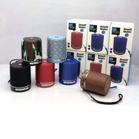 Wireless TG511 Altoparlante Bluetooth HiFi subwoofer Mini portatile Audio Altoparlanti 6 colori Soundbar da esterno con scatola al dettaglio SF Card MP3 Player