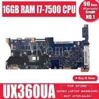 Scheda madre Achemy Top Configuration Laptop Scheda madre per ASUS Q324UAK Q324UA Q324U DAINBOARD 60NB0C00-MB8000 16 GB RAM -7500 CPU