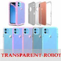 갑옷 충격 방지 범퍼 케이스 아이폰 12 11 프로 최대 XR XS x 6 7 8 플러스 무거운 듀티 보호 하드 PC TPU 전화 케이스