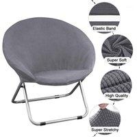 1 Stück Runde Untertasse Sessor Cover Spandex Chair Cover Moon Sauce Protector Runde Campingabdeckungen für Wohnzimmer1