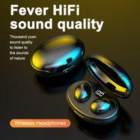 T5 TWS Bluetooth 5.0 Wireless Ohrhörer Wasserdichte Geräuschreduzierung Headset Kopfhörer für iPhone Wireless Bluetooth-Kopfhörer LED-Anzeige