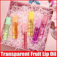 Aceite de labios transparente fruta nutritiva Lip Gloss Gloss Natural cambio de color del lápiz labial hidratante jalea líquido brillo de labios lindo