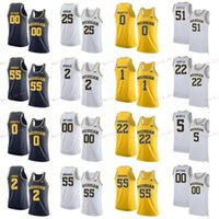 Cosido 24 Baird 3 Zavier Simpson 32 Luke Wilson 44 Jaron Faulds Michigan Wolverines College Hombres Mujeres Jersey Jersey