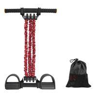 Widerstandsbänder 3 Schlauch Elastische Zug Seil Fuß Pedal Körper Slim Yoga Spanner Training Sport Übung Fitness Equipme