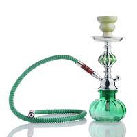 Beark Bong Hookahs Shisha Keighty Dab Rigs Dos manguera de vidrio Agua Bongs Fumar Accesorios Arab Bong Envío gratis