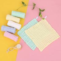 Serviette bébé coton plaine carré nouveau-né mouchoir pour bébé nettoyant main mains serviettes TODDLER BIBS 70 O2