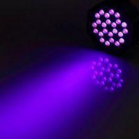 Ny design U'King 72W LED-lampor Lila Ljus DJ Disco KTV PUB LED-effekt Ljus Högkvalitativ material LED-steg Ljus Voice Control