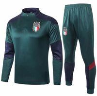 2020 2021 Trainingsanzug Fussball Training Anzug 2020 2021 Italien Surveletement Maillot de Foot Training Anzug Uniform Kit
