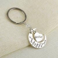 Ich liebe dich zum Mond und zurück Schlüsselanhänger Mond Herzform Schlüssel Ringhalter Metallkreis Charme für Tasche Schlüsselanhänger Spielzeug Dekoration E112702