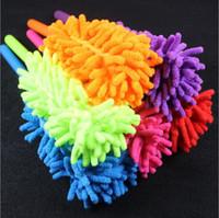 Removedor de polvo Tusters flexibles Tusters Portátil Mango largo Limpieza extensible Brocha de limpieza para el dormitorio para el hogar Herramientas de limpieza de automóviles GWC4703