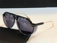Club3 New Hombres Gafas de sol populares con protección UV especiales Moda para mujer Retro Oval Glasses Marco de alta calidad Gratis Box de alta calidad