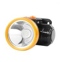 헤드 램프 슈퍼 밝은 LED 헤드 라이트 야간 승마, 낚시, 유지 보수 등 전구 9W 충전식 헤드 램프