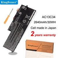 KingSener New AC13C34 Laptop Battery For Acer Aspire V5-122P V5-132 E3-111 E3-112 KT.00303.005 31CP5/60/80 11.4V 2640mAh/30WH