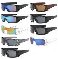 큰 프레임 선글라스 인기있는 바람 사이클링 미러 스포츠 야외 안경 고글 선글라스 남자 여자 운전 선글라스 9 색상