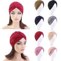 Bere / Kafatası Kapaklar 2021 Müslüman Kadınlar Başörtüsü Şapka Katı Modal Türban Ince Yaz Yumuşak Elastik İç Kap Bonnet Wrap Head Moda