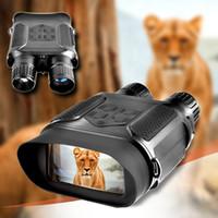 NV400B Digital Night Vision Binocular Hunting 400M Range IR NV Scope HD 850NM Infrared IR with Video and Picture Riflescope for Hunter