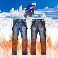 Jeans Ski Pants Wholesale Men And Women Outdoor Windproof Wa...