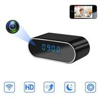Telecamere 1080P WiFi mini fotocamera Tempo ora sveglia Sensore di movimento wireless Sensori IP Security Night Vision Micro Home Monitor remoto Hidden TF Card1