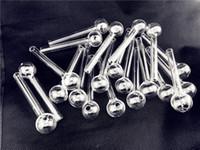 4,8 inch12 cm Klarer Pyrex Glas Öl Brenner Transparente Ölbrenner Glasrohr Öl Brennen Rohrglasrohre Wasserleitungen