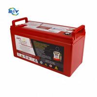 Pacchetto batteria agli ioni di litio a ciclo profondo 3 anni 12V 120Ah BMS LifePo4 per stoccaggio solare