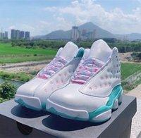zapatos de descuento aurora verde 13 13s mujer baloncesto deporte blanco jumpman para mujer entrenadores cestas zapatillas deportivas zapatillas desaussures zapatos
