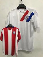 2020 2021 Paraguay Soccer Jerseys national team home away Romero Ayala Lezcano González Sanabria 20 21 football shirt