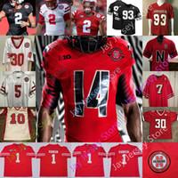Nebraska CornHuskers Football Jersey NCAA College Johnny Rodgers JD Spielman Khalil Davis Ndamukong Suh Amukamara Phillips Stoll Tanannotor