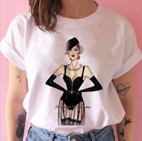 Mode Vog Princess T-shirt Frauen Mädchen 90er Jahre T-shirt Harajuku Ulzzang Grafik Sommer Weiß T-Shirt Top Tee Weiblich