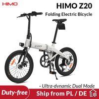 [سفينة من الاتحاد الأوروبي أي ضريبة] هيمو Z20 للطي دراجة كهربائية للغاية ديناميكية وضع مزدوج جدا E-BIKE 250W في المناطق الحضرية e دراجة 80km