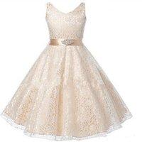 결혼식에 대 한 긴 흰 꽃 소녀 드레스 미인 파티 공 가운 생일 첫 번째 친교 드레스 소녀 이브닝 드레스