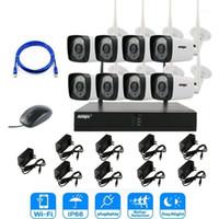 ANSPO 2MP 1080P CCTV System 8CH HD Wireless NVR Kit Outdoor IR Nachtsicht IP Wifi Camera Sicherheit Systemüberwachung1