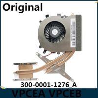 LSC Novo original para VPCea EA VPC-EA VPCEB EB VPC-EB Radiador Heatsink com ventilador UDQFRZH13CF0 300-0001-1276_A1