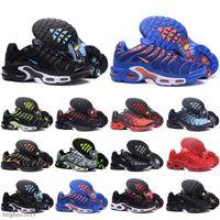 TN React 2020 New Style Reagire Nightlight Scarpe da corsa impermeabili Reagire Airmattress Assorbimento urti casuali delle scarpe da tennis EUR 36-45
