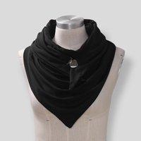 Шарфы унисекс универсальная осень зима теплая ветрозащитная шить цвет двухслойная пряжка шарф кешью цветы звезда галстук