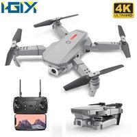 HGIYI M73 480P 4K بدون طيار RC مع HD كاميرا الارتفاع تابعني مصغرة اللعب FPV للطي رباعي الطائرات بدون طيار VS SG106 KF609 E68 E58 Y1128