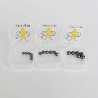JCVAP SIC TERP Pallina perla con 4 mm 5mm 6mm per 10 14 18mm Quartz Banger Domeray Nails Inserto SIC Inserire spessa Bangers Olio Pan