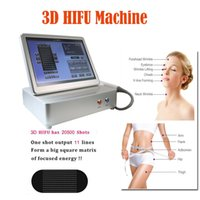 Máquina de la belleza de la belleza del acalizador de la máquina delantera del cuerpo del hifu 3D no invasivo 3D HIFU Máquina de adelgazar