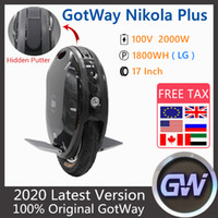 2020 GOODE GAODE NIKOLA PLUS ELECTRIC UNICO UNICO 17 INCLUYE 2000W MOTOR SCOOTER 100V 1230WH 1800WH 1845WH 1845WH Monowheel Scooter