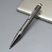 تعزيز سعر أسود حبر جاف القلم المعدنية مع الكريستال رئيس مكتب القرطاسية الأزياء الكتابة الملء الأقلام هدية