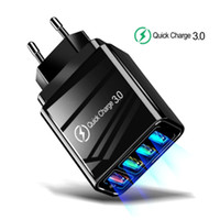 Chargeur rapide 3.0 Chargeur USB pour Samsung pour iPhone QC 3.0 Fast Wall Charger US UE UE UK Genchon Adaptateur